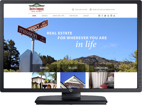 Portfolio San Luis Obispo Design Web Development Net Buffalo Website Design Web Hosting Slo Ca Central Coast